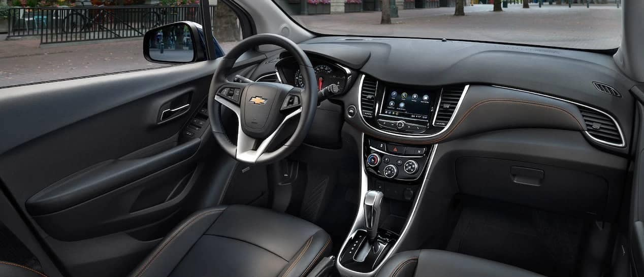 2019 Chevy Trax interior dashboard