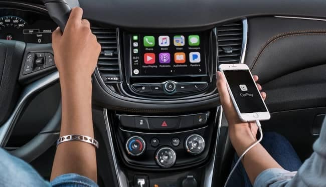 apple carplay in 2019 Chevy Trax