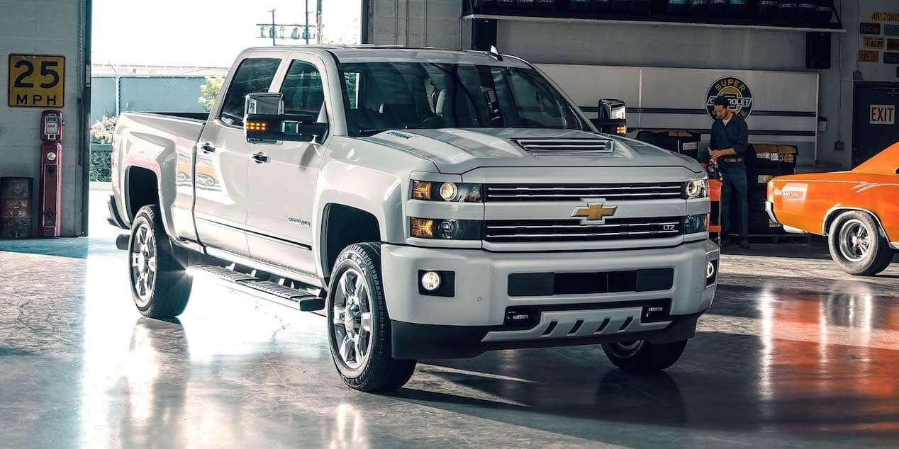 2019 Chevy Silverado 1500 HD In Garage