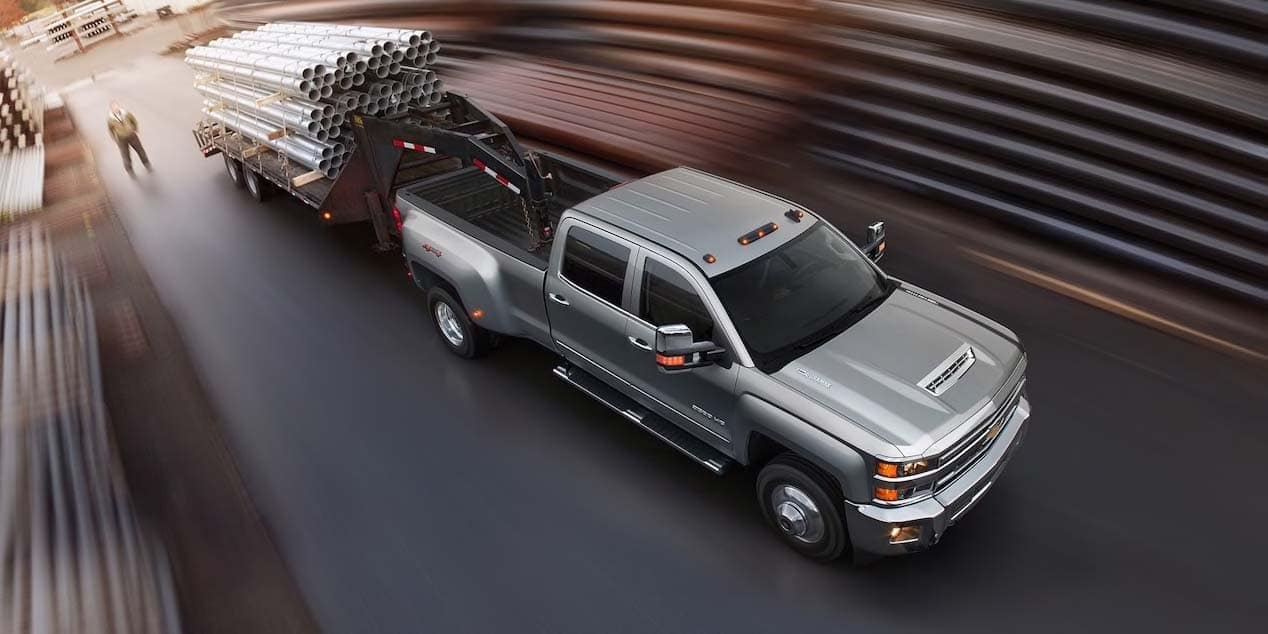 2019 Chevy Silverado 1500 HD towing