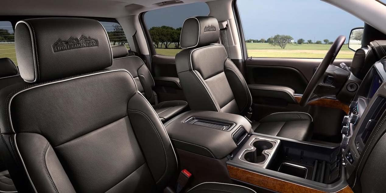 2019 Chevy Silverado 1500 HD Seating