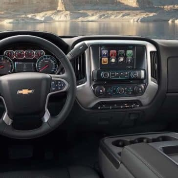 2019 Chevy Silverado 1500 HD Dash