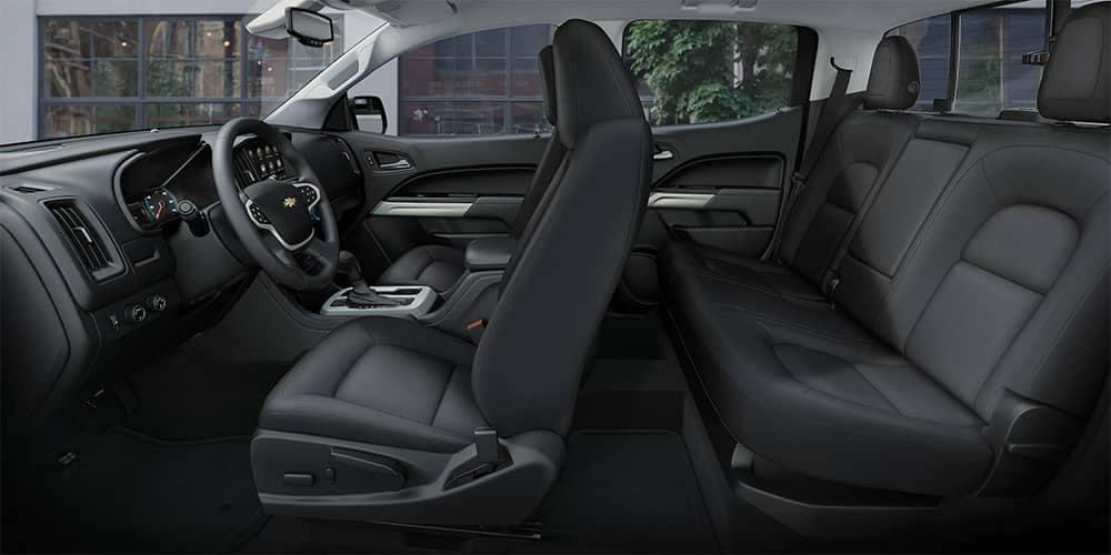 2019 Chevy Colorado Leather Seating
