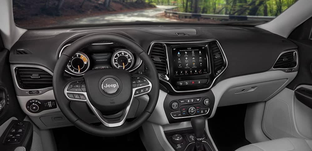 2019 Jeep Cherokee Dash