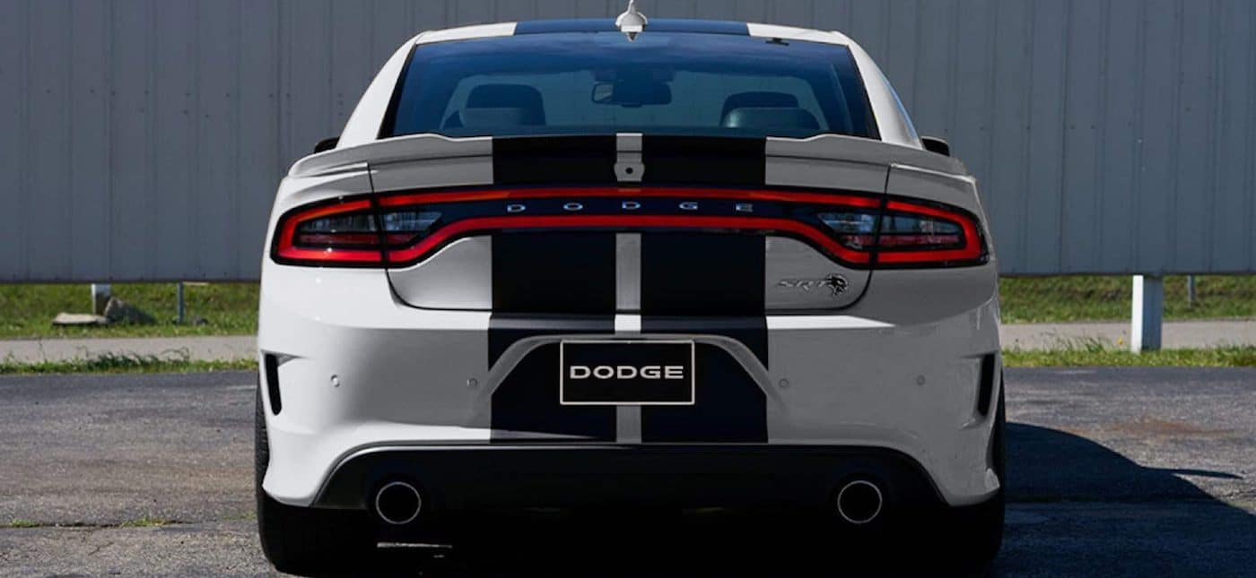 2020 Dodge Charger trunk