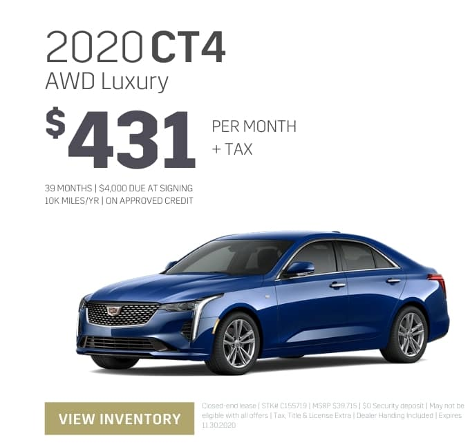2020 Cadillac CT4 Special