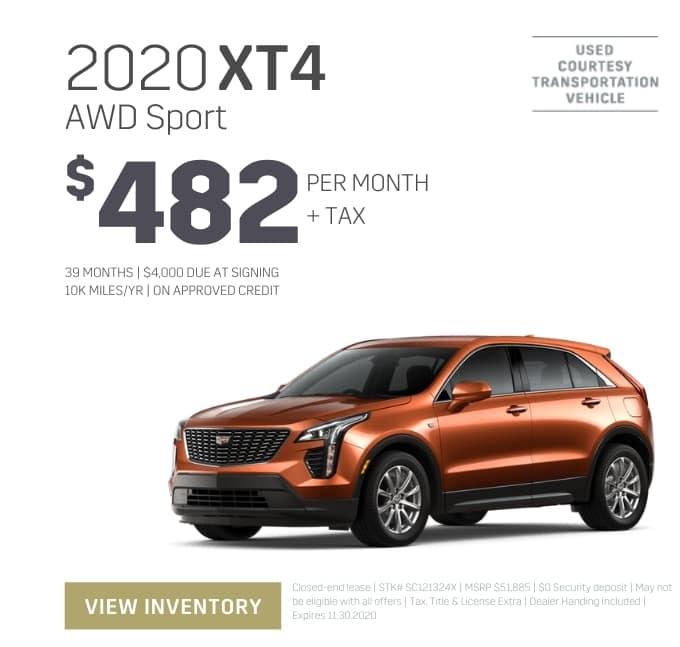 2020 Cadillac XT4 Special