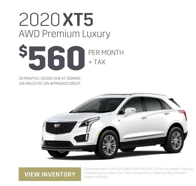 2020 Cadillac XT5 Special