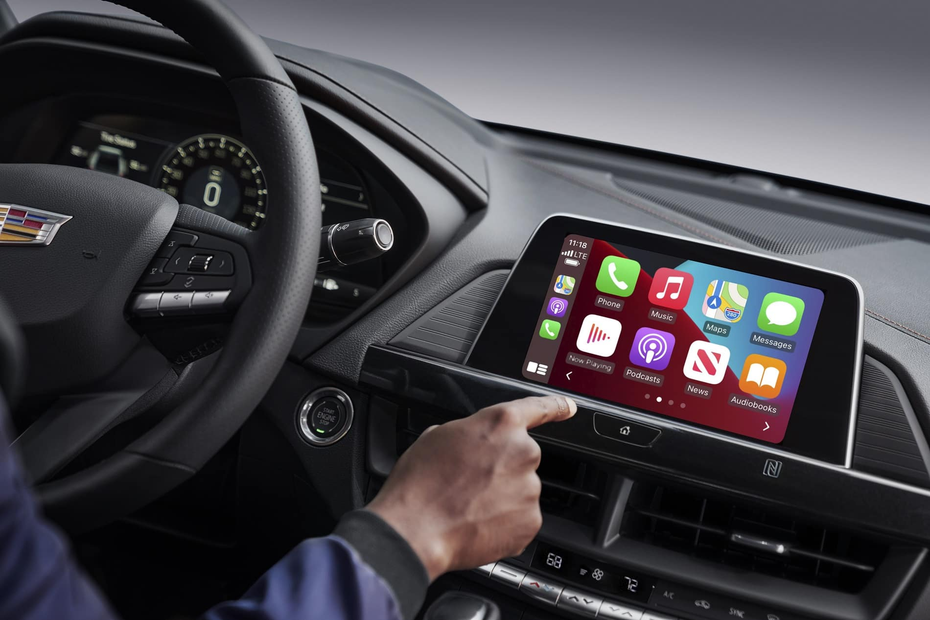 2021 Cadillac CT4 Interior Apple CarPlay™ Technology