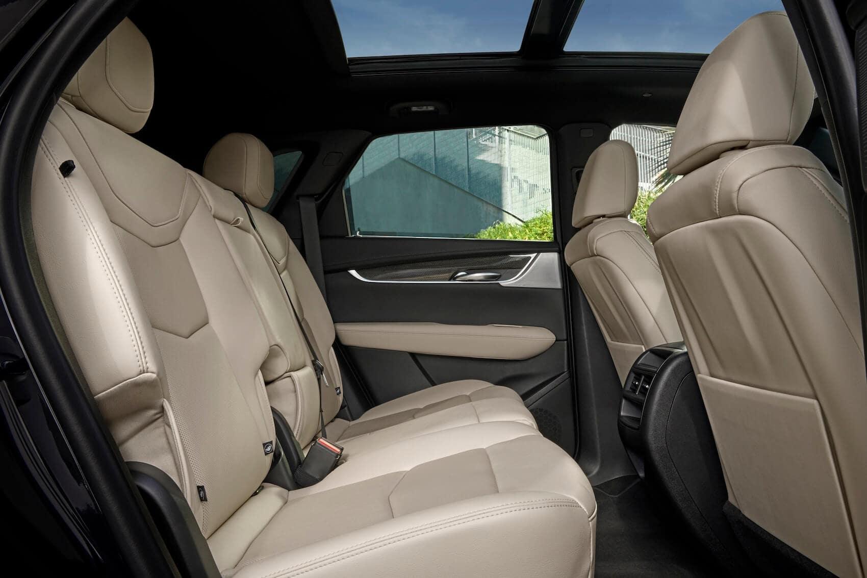 Cadillac XT5 Seating