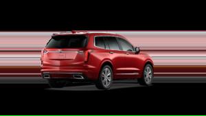2021 Cadillac XT6 Red Rear View