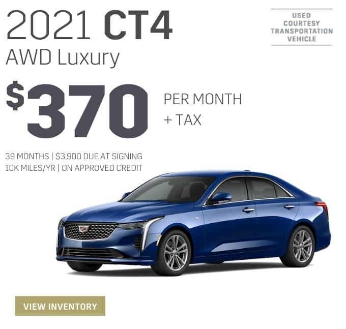 2021 CT4 AWD Luxury