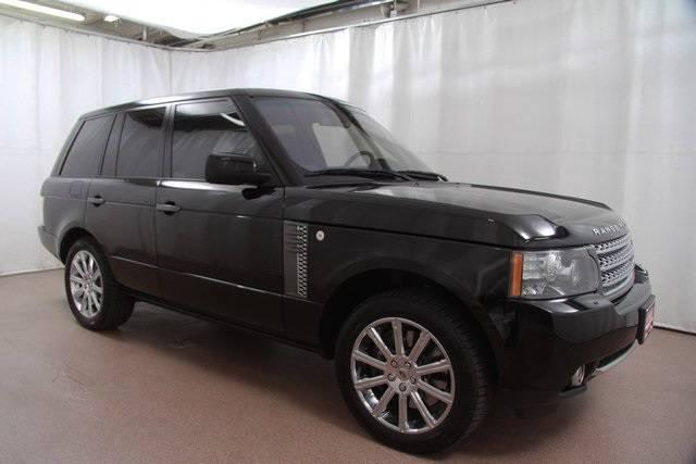 2010 Range Rover Supercharged SUV for sale Red Noland Used