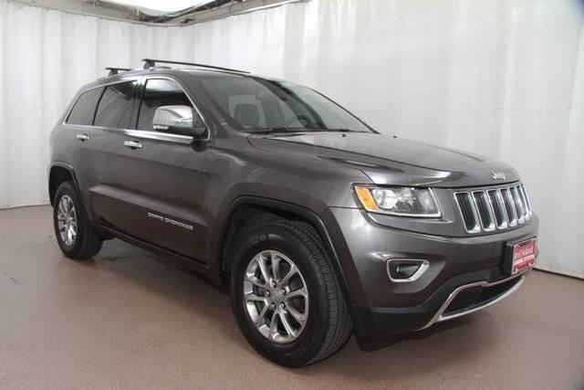 2014 Jeep Grand Cherokee Limited for sale Red Noland Used