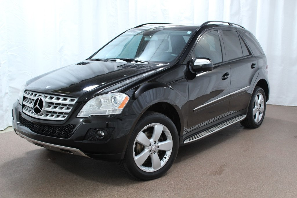 used 2009 mercedes benz ml350 luxury suv for sale red