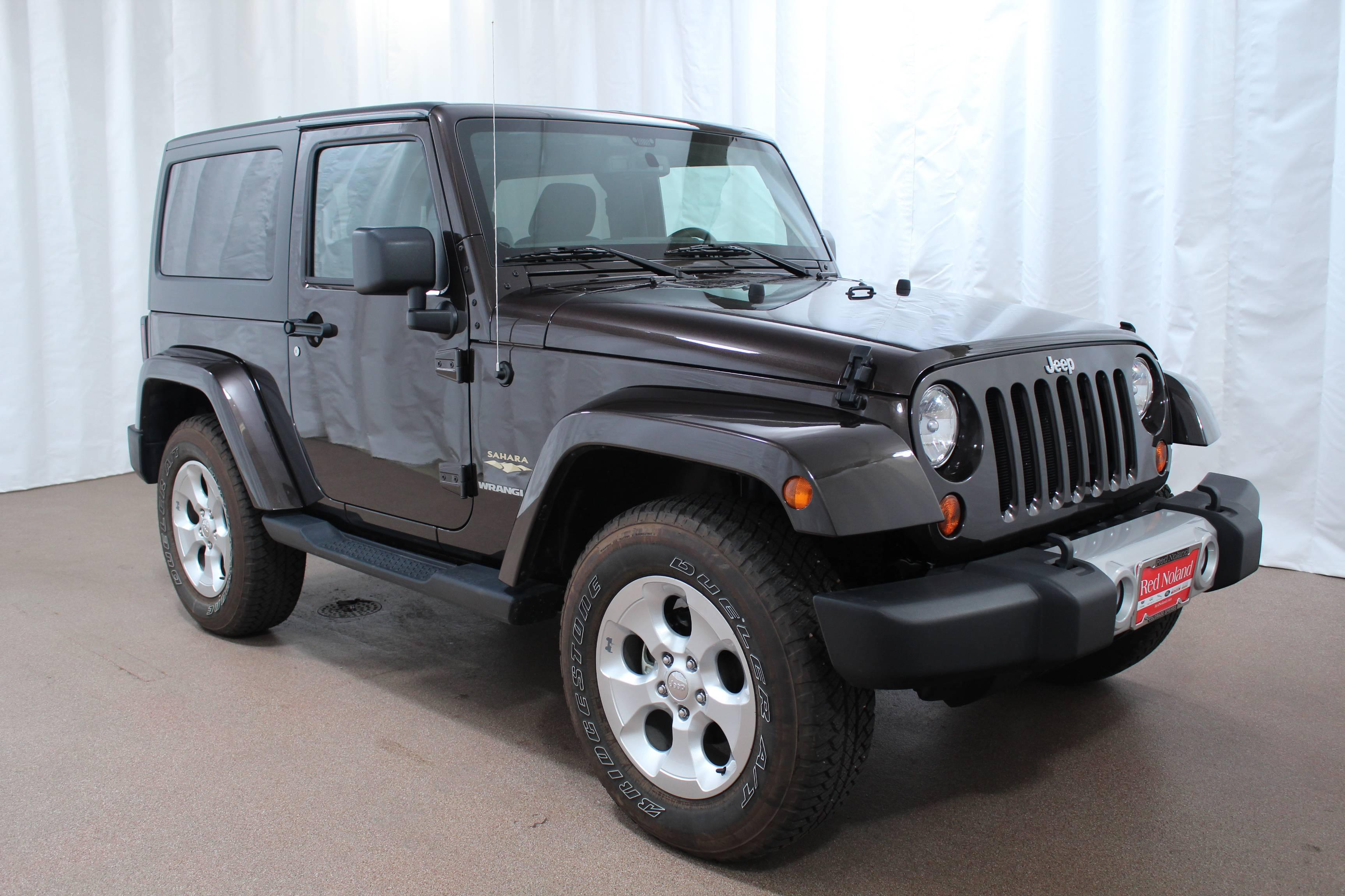 pre owned 2013 jeep wrangler sahara for sale red noland used. Black Bedroom Furniture Sets. Home Design Ideas