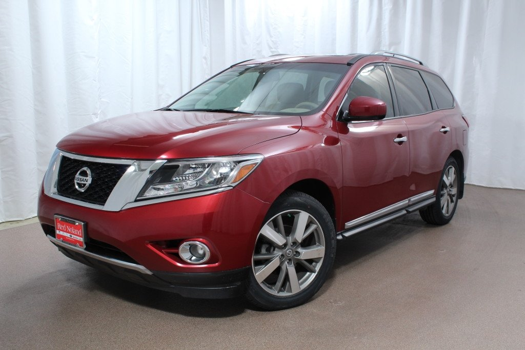 2014 nissan pathfinder luxury suv for sale red noland pre owned. Black Bedroom Furniture Sets. Home Design Ideas