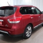 2014 Nissan Pathfinder Platinum SUV for sale Red Noland Pre-Owned