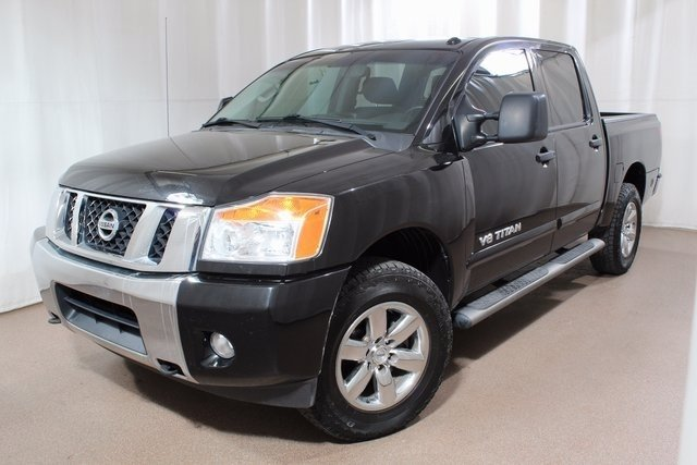 2013 Nissan Titan for sale Red Noland Used