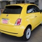 2015 FIAT 500 Pop hatch for sale Red Noland Used