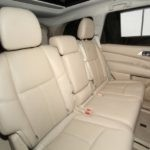 Rear Seat of Used 2014 Nissan Pathfinder at Red Noland Pre-Owned
