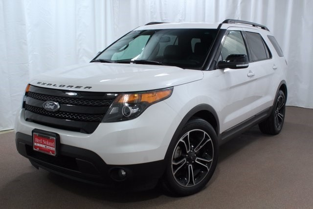 2015 Ford Explorer For Sale >> Roomy 2015 Ford Explorer Sport For Sale Red Noland Used