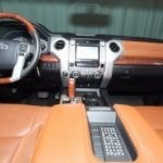 Interior of 2014 Toyota Tundra for sale Red Noland Used