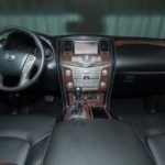 Interior Technology 2017 Nissan Armada for sale Red Noland Pre-Owned