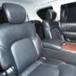 Rear seats 2017 Nissan Armada for sale Red Noland PreOwned
