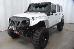 White RedRox Jeep by Red Noland Used Cars