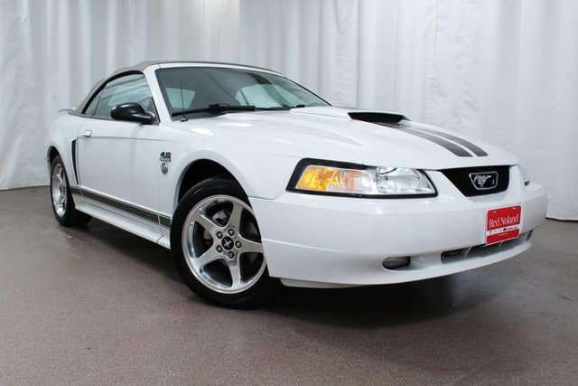 pre owned 2004 ford mustang gt convertible for sale at red. Black Bedroom Furniture Sets. Home Design Ideas