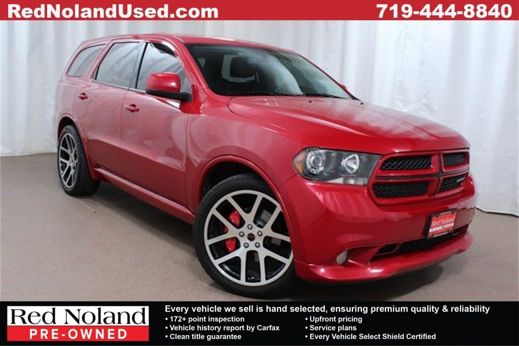 2013 Dodge Durango For Sale Colorado Springs