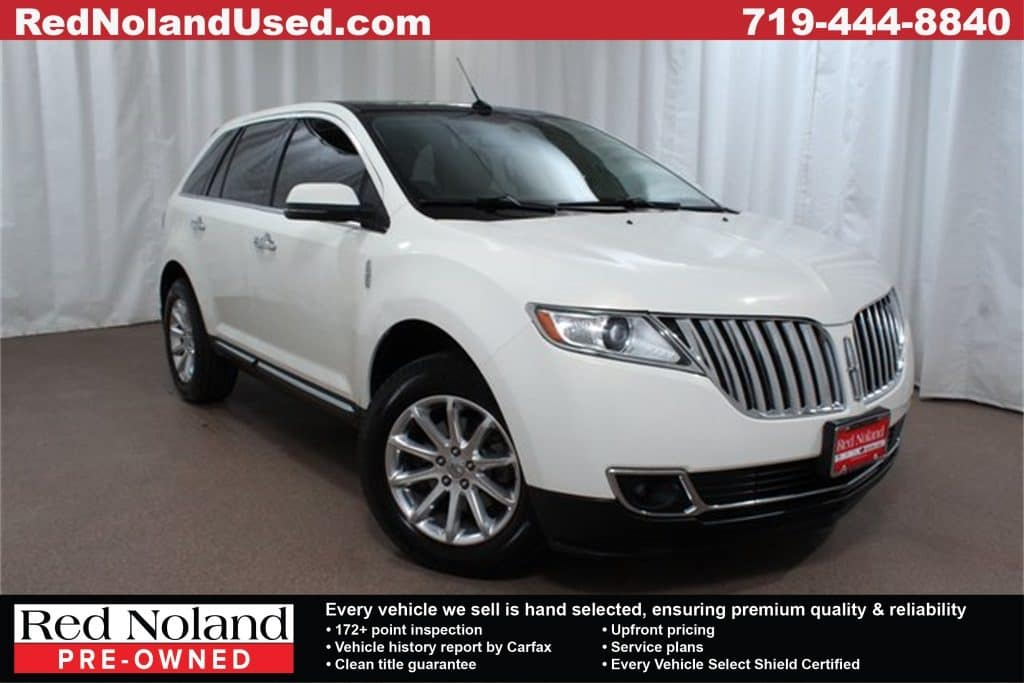 Gently Pre Owned 2013 Lincoln Mkx Elite Suv For Sale Red Noland Used