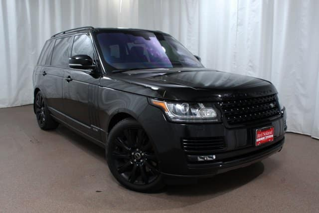 Used Suv For Sale >> Pre Owned 2016 Range Rover Luxury Performance Suv For Sale