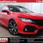 2017 Honda Civic Si sporty coupe