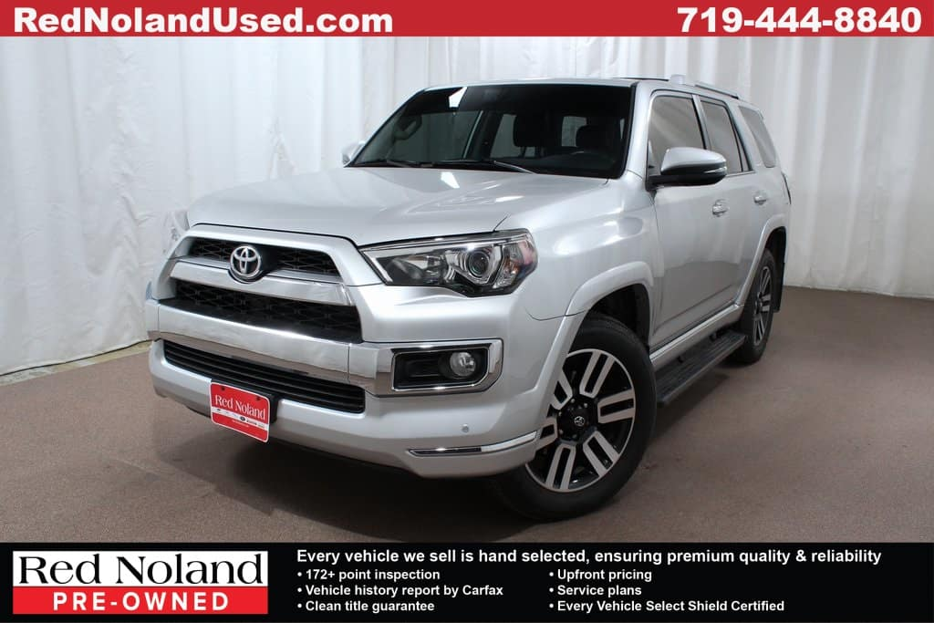 2014 4runner For Sale >> Gently Used 2014 Toyota 4runner Suv For Sale In Colorado Springs