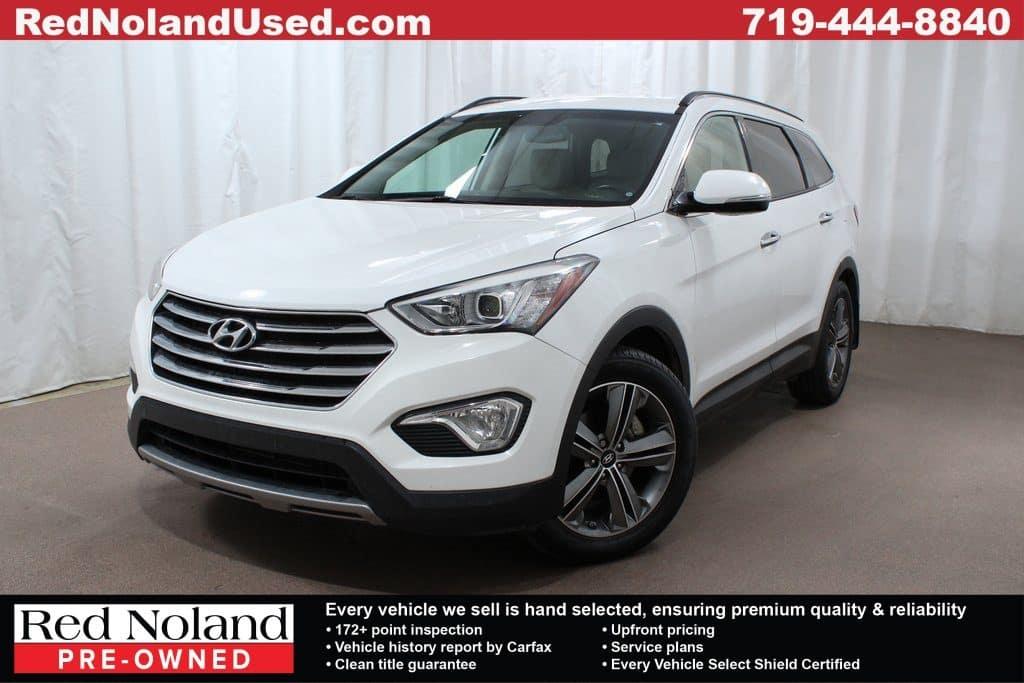 Gently Used 2015 Hyundai Santa Fe Efficient Suv For Sale In Colorado