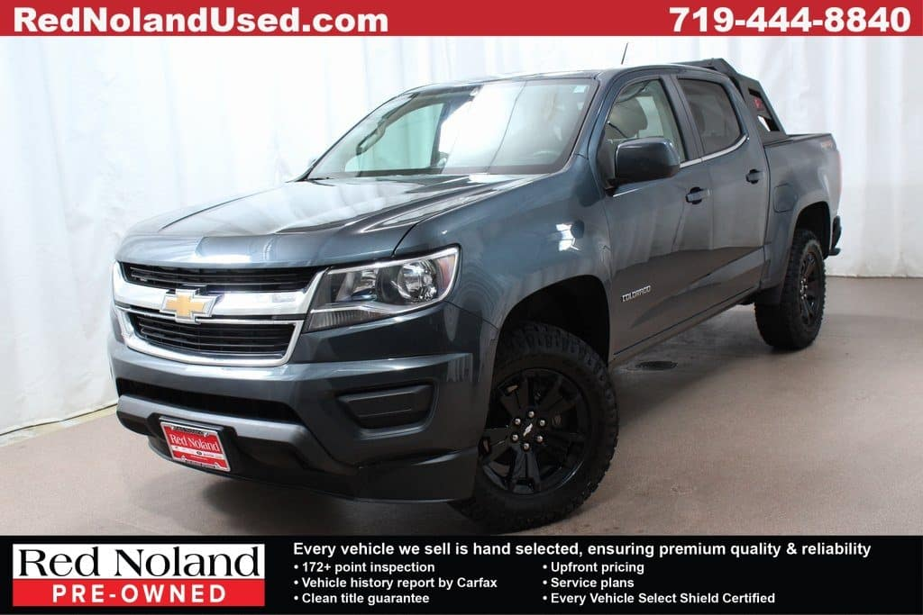 Gently used 2019 Chevy Colorado