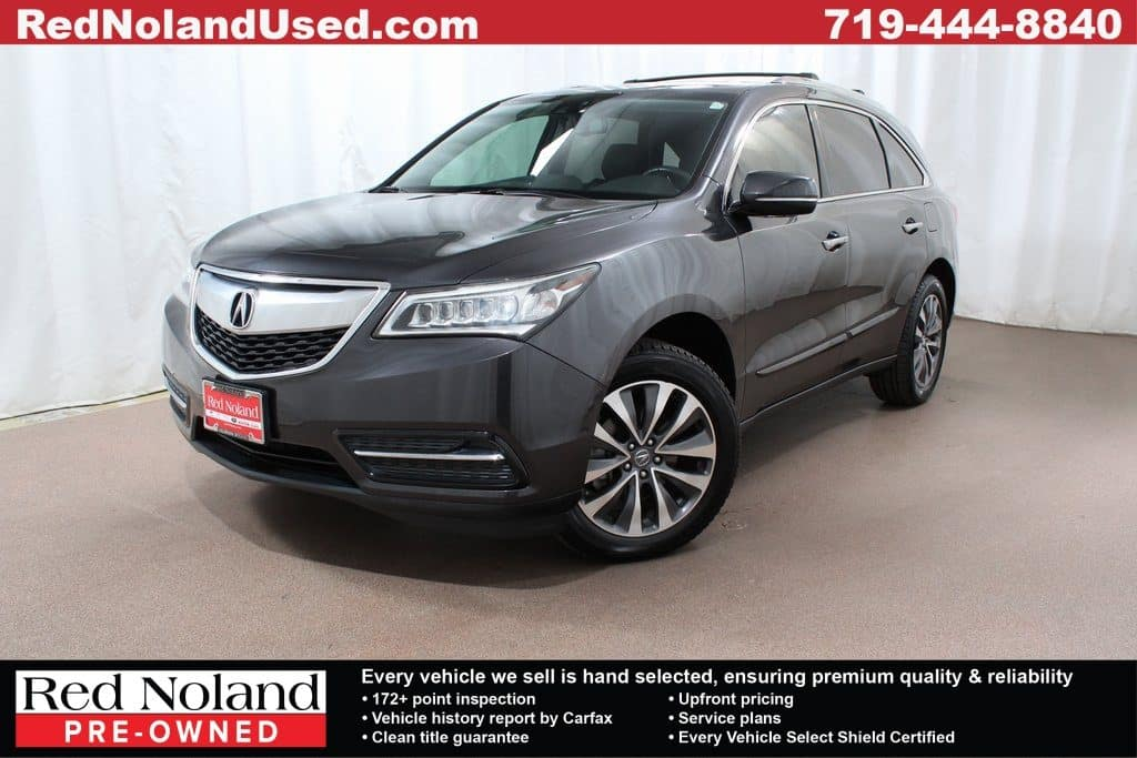 Acura Mdx For Sale >> 2014 Acura Mdx Luxury Suv For Sale Gently Used In Colorado
