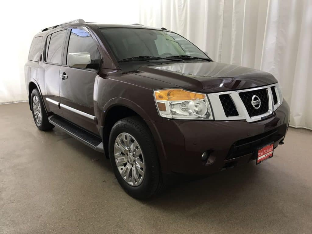 Gently used 2015 Nissan Armada for sale