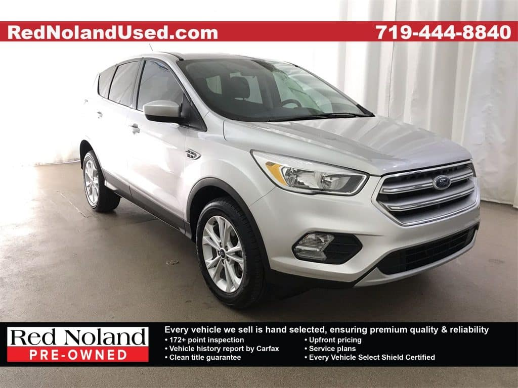 Gently used 2017 Ford Escape