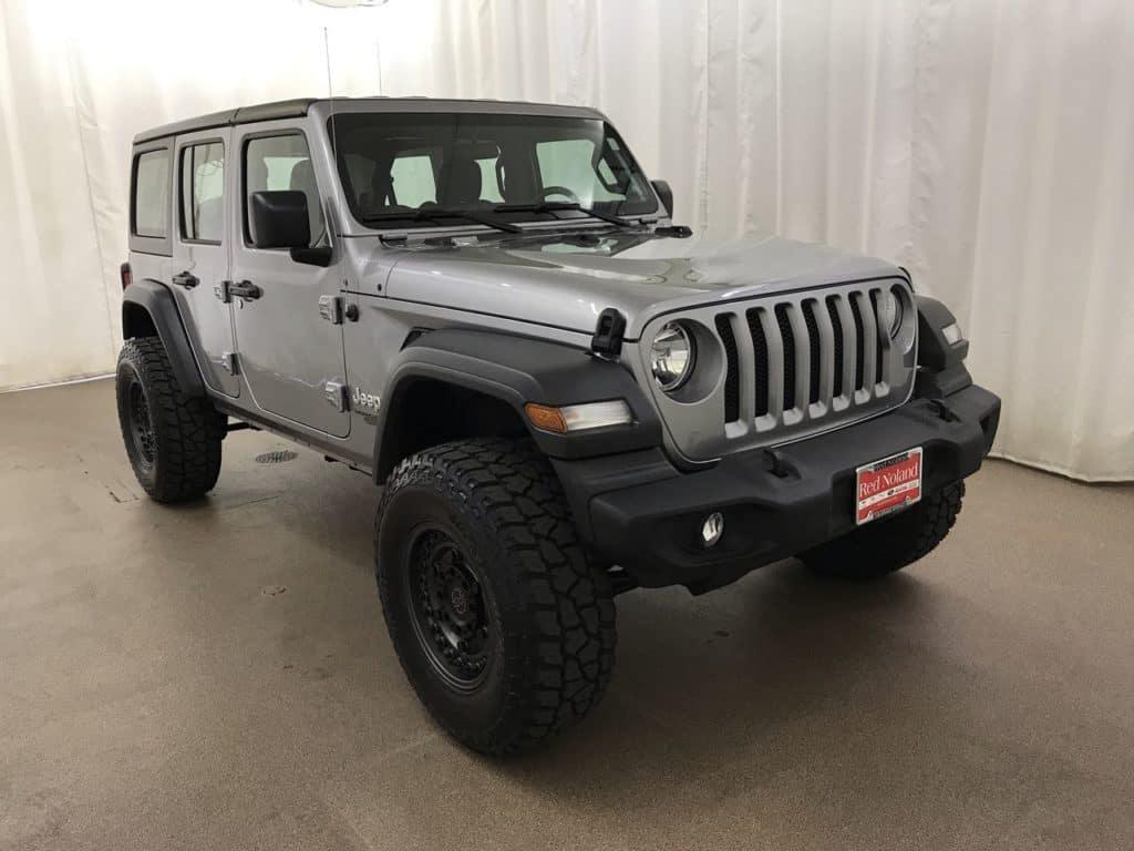 2018 Jeep Wrangler Unlimited RedRox Custom