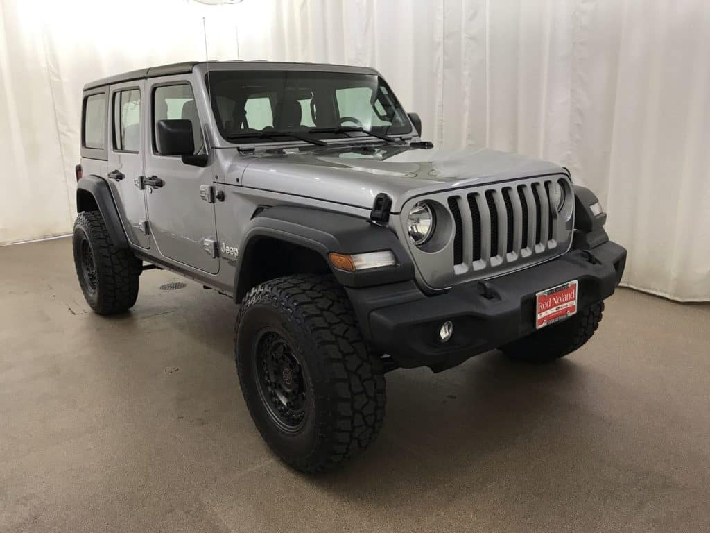 Customized 2018 Jeep Wrangler Unlimited