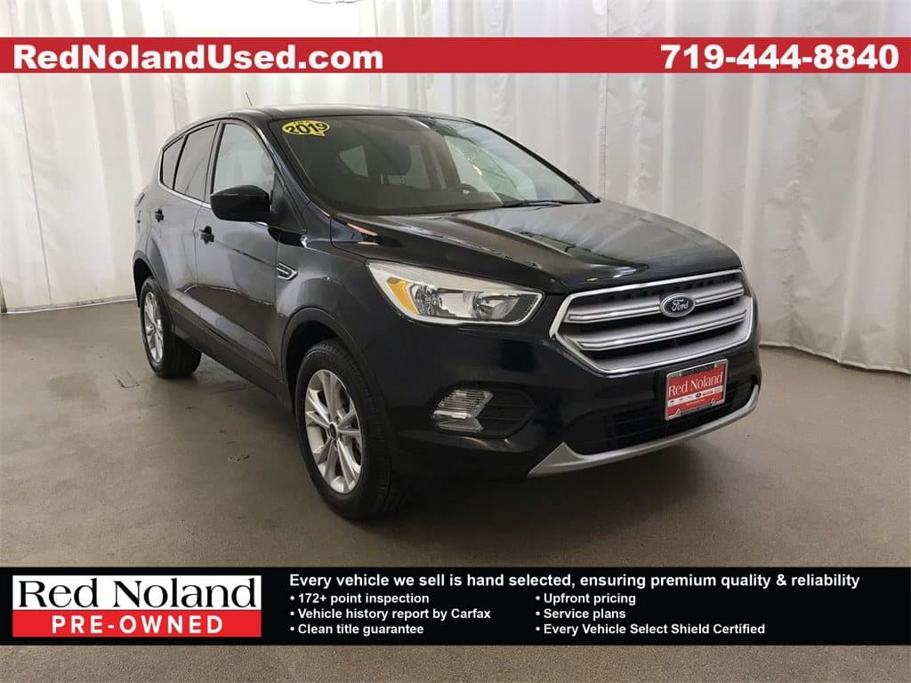 Gently used 2019 Ford Escape