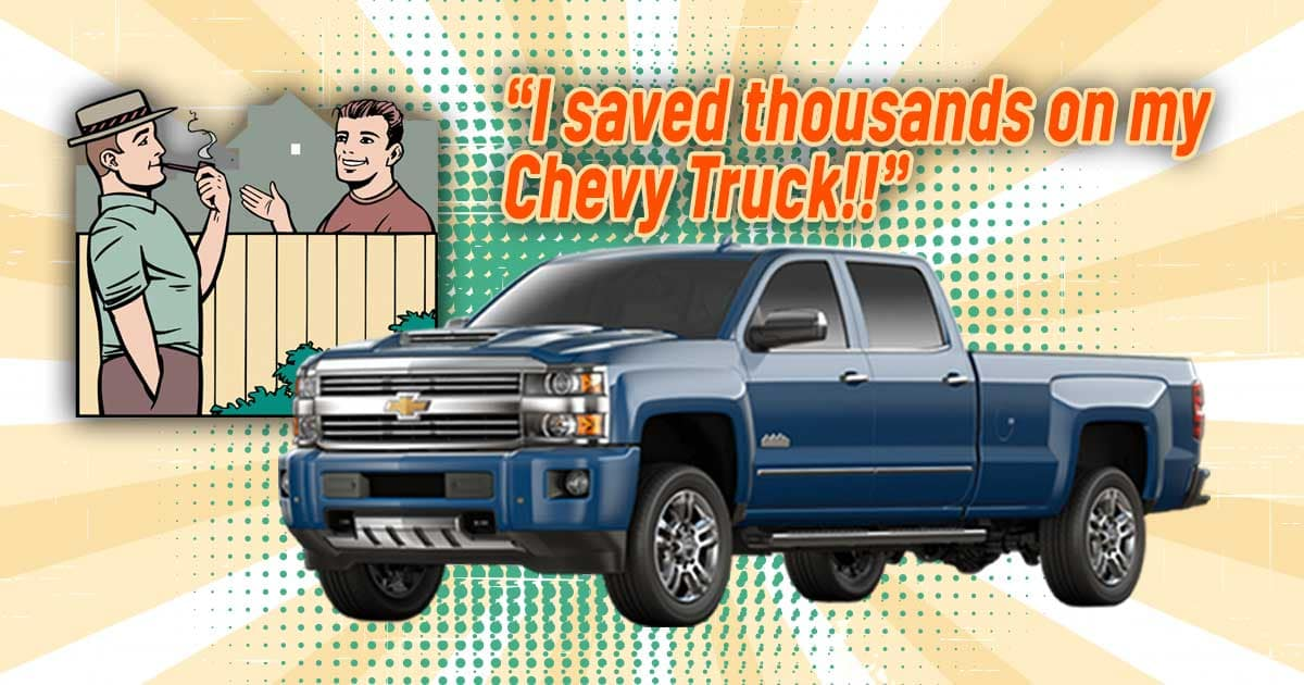 chevrolet trucks - save thousands