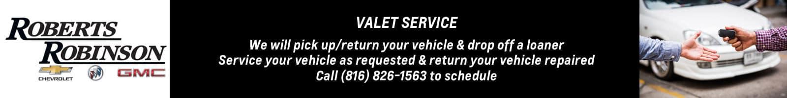 Schedule Valet Pickup