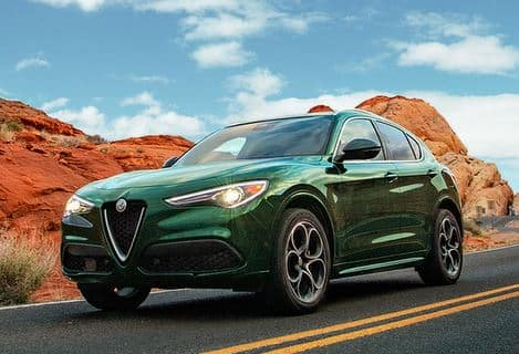 2021 ALFA ROMEO STELVIO SPRINT AWD - RON LEWIS REAL LEASE FOR $599/MONTH! (Taxes & Tags INCLUDED)