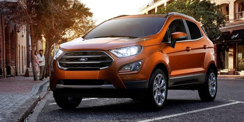 2019 Ford Ecosport SE – Lease for only $132/month!