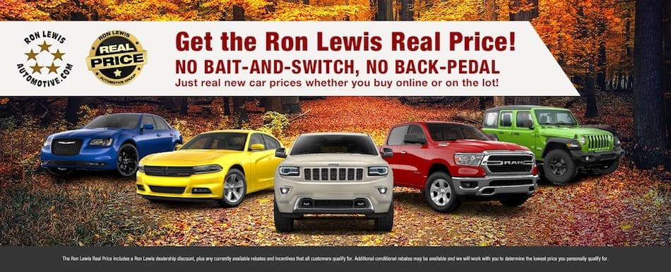 Get the Ron Lewis Real Price!
