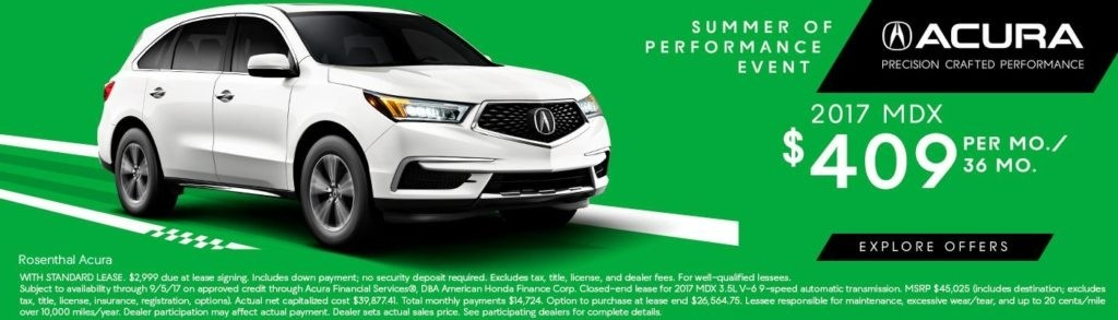 Rosenthal Acura Summer Sale MDX